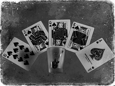 Of Liquor Photograph - Royal Flush In Nashville Tennessee by Dan Sproul