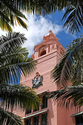 Photograph - Royal Hawaiian Hotel Tower by Michele Myers