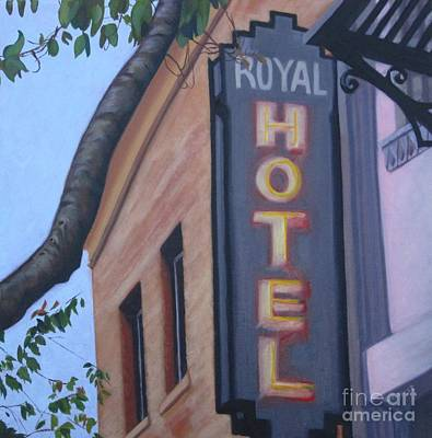 Royal Hotel Art Print by Katrina West