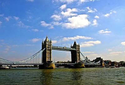 Photograph - Royal London Bridge by My Lens and Eye   - Judy Mullan -