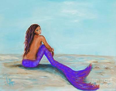 Painting - Royal Mermaid by Leslie Allen