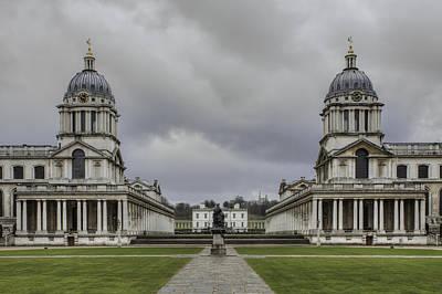 Wren Photograph - Royal Naval College Greenwich by Nigel Jones