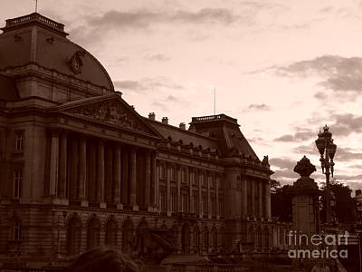 Royal Palace Brussels Art Print
