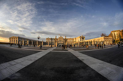 Photograph - Royal Palace In Madrid by Pablo Lopez