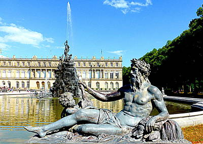 Royal Palace Of Herrenchiemsee  Art Print
