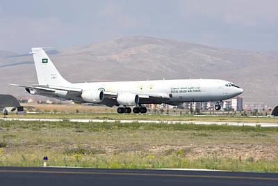 Photograph - Royal Saudi Air Force Kc-707 Tanker by Riccardo Niccoli