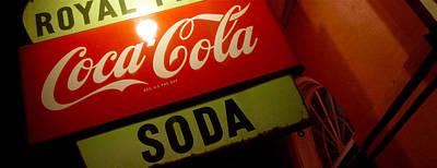 Coca-cola Sign Photograph - Royal Soda by Jon Berry OsoPorto