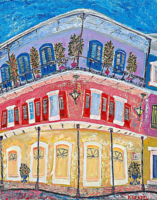 Painting - Royal Sonesta by Kerin Beard