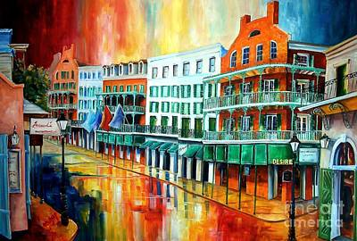 New Orleans House Wall Art - Painting - Royal Sonesta New Orleans by Diane Millsap