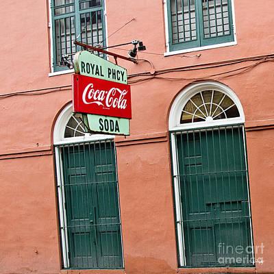 South Louisiana Photograph - Royal St. Pharmacy by Scott Pellegrin