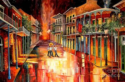 New Orleans French Quarter Wall Art - Painting - Royal Street Serenade by Diane Millsap