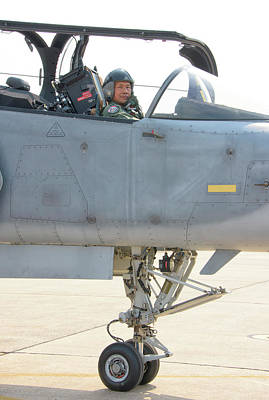 Photograph - Royal Thai Air Force Pilot Seat by Giovanni Colla