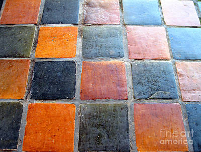 Photograph - Royal Tiles by Ethna Gillespie