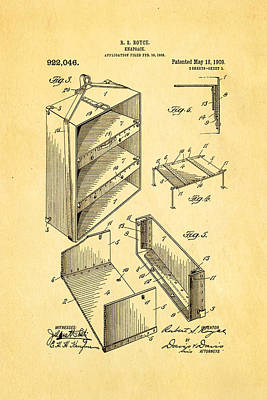 Royce Knapsack Patent Art 2 1909  Art Print