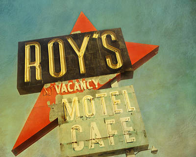 Photograph - Roy's Motel And Cafe by Gigi Ebert