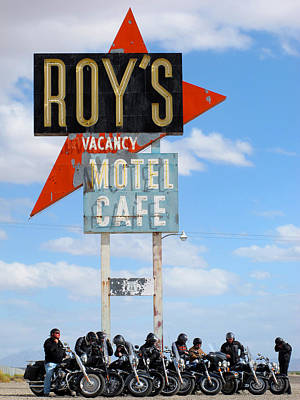 Photograph - Roy's Motel by Keith May