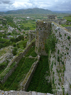 Photograph - Rozafa Castle - Albania by Phil Banks