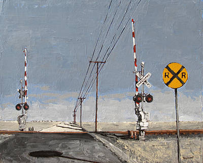 Back Road Painting - RR by Steve Beaumont