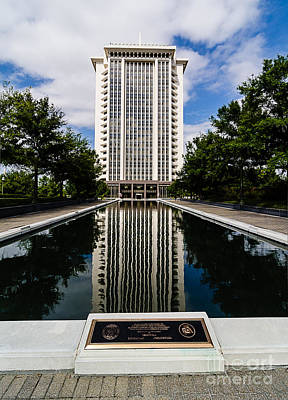 Photograph - Rsa Building Montgomery Alabama by Danny Hooks