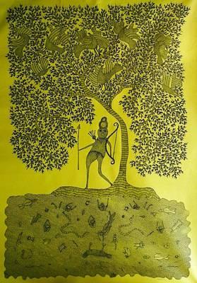 Gallerie Ak Painting - Rsu 72 by Ram Singh Urveti