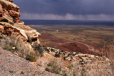 Photograph - Rt. 261 From Moki Dugway by Butch Lombardi
