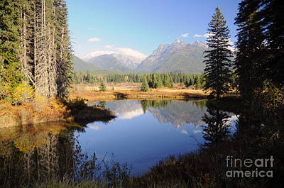 Photograph - 1127a Cabinet Mountains Ibex Peak Montana by NightVisions