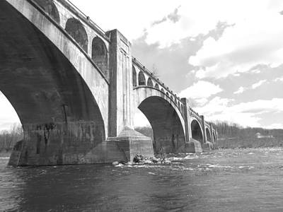 Travel Rights Managed Images - Rt 80 Bridge Royalty-Free Image by Art Dingo