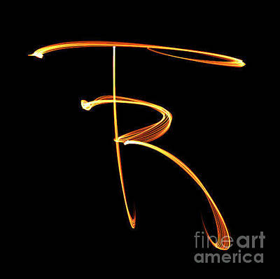 Photograph - Rt Abbreviated Signature by Renee Trenholm