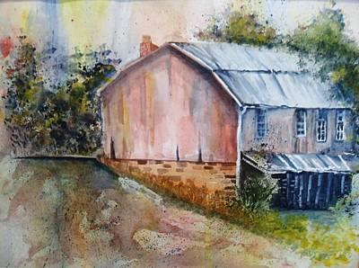 Rte 154 Barn Art Print