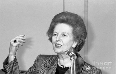 Photograph - Rt.hon. Margaret Thatcher by David Fowler