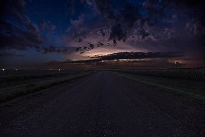 Photograph - Rtn Battle In The Sky by Aaron J Groen