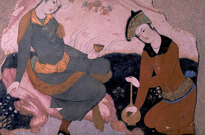 Rubaiyat 0f Omar Khayyam Print by Carl Purcell