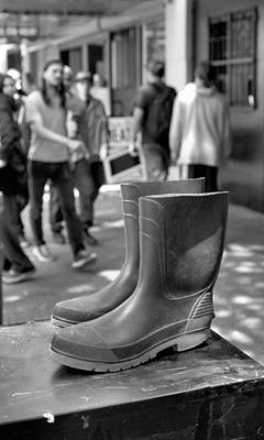 Photograph - Rubber Boots by Douglas Pike