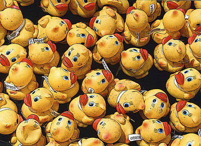 Photograph - Rubber Duckies Annual Race For Charity by Rob Huntley