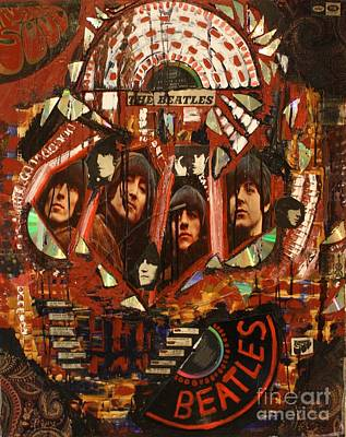 Rubber Soul Art Print by Michael Kulick