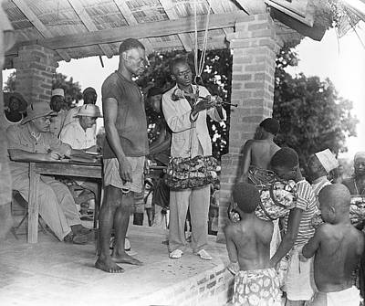 Sociology Photograph - Rubber Trade In Africa by Library Of Congress