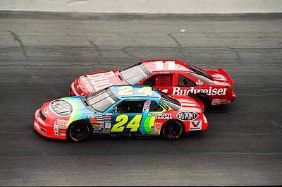 Nascar Photograph - Jeff Gordon by Retro Images Archive