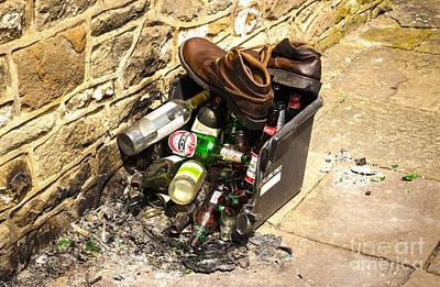 Photograph - Rubbish by David Warrington