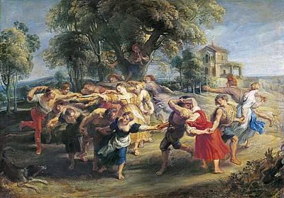 Rubens, Peter Paul 1577-1640. A Peasant Art Print by Everett