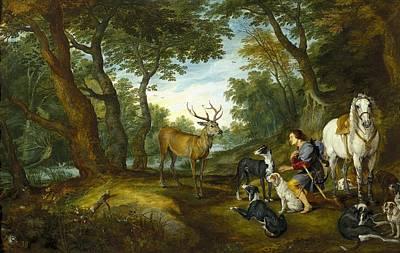 Rubens, Peter Paul 1577-1640 Breugel Art Print by Everett