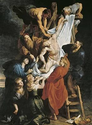 Antwerpen Photograph - Rubens, Peter Paul 1577-1640. Descent by Everett