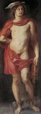 Rubens, Peter Paul 1577-1640. Mercury Art Print by Everett