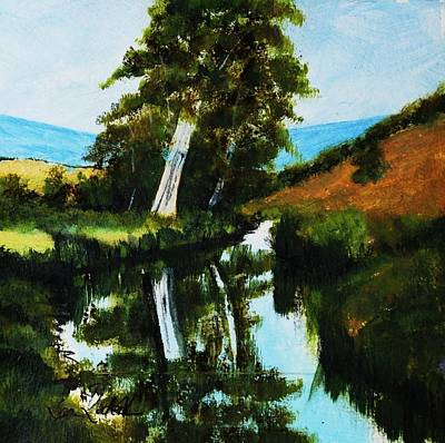Gum-tree Mixed Media - Rubicon River by Sean Roderick