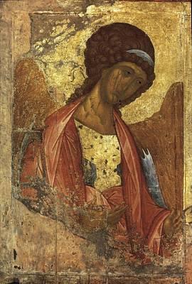 Rublyov, Andrey 1360-1430. Archangel Art Print by Everett