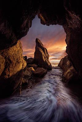 Ocean Sunset Wall Art - Photograph - Ruby Beach by Louise Yu