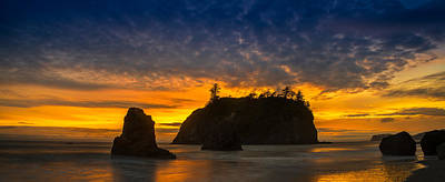 Olympic National Park Photograph - Ruby Beach Olympic National Park by Steve Gadomski