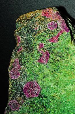 Photograph - Ruby Crystals by Millard H Sharp