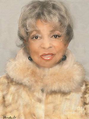 Digital Art - Ruby Dee by Vannetta Ferguson