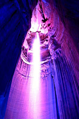 Photograph - Ruby Falls by Cathy Shiflett
