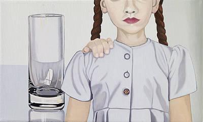 Hamburger Painting - Ruby by Marcella Lassen